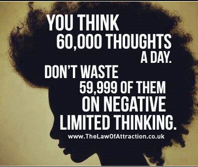 Thoughts are Important so Use them to better you
